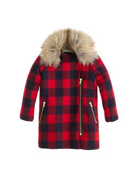 girls-buffalo-check-coat by jcrew