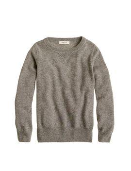 kids-italian-cashmere-sweatshirt by jcrew