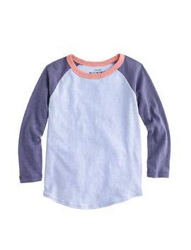 girls-baseball-t-shirt by jcrew