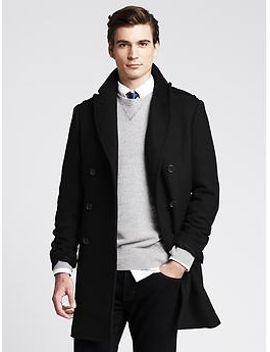 black-wool-topcoat by banana-repbulic