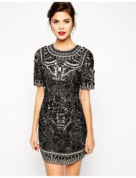 asos-red-carpet-premium-embellished-shift-dress by asos-collection