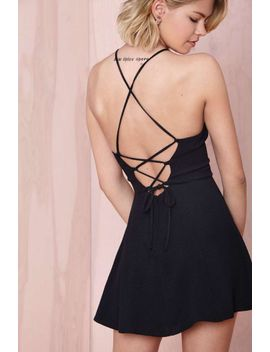 after-party-vintage-sianna-dress---black by nasty-gal