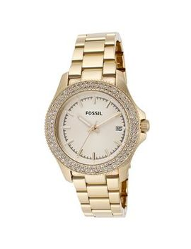 fossil-womens-am4453-retro-traveler-goldtone-watch by fossil