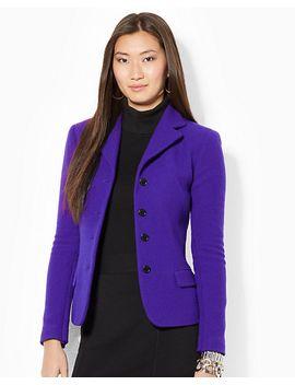 wool-blend-buttoned-jacket by ralph-lauren
