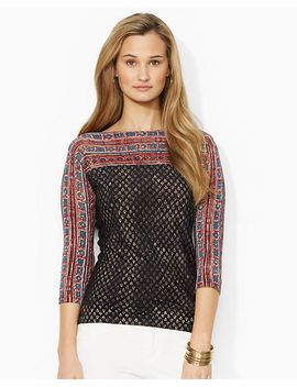geometric-boatneck-sweater by ralph-lauren