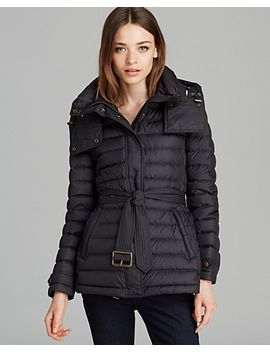burberry-brit-cornsdale-puffer-coat by burberry