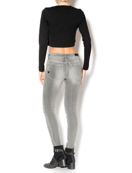 grey-skinny-jeans by betty-lous,-iowa-city