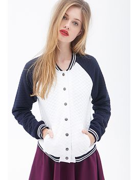 quilted-varsity-jacket by forever-21