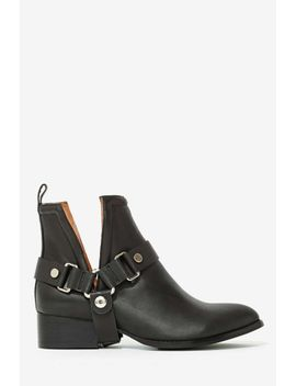 jeffrey-campbell-musk-harness-leather-boot by nasty-gal