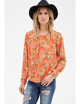 bird-print-blouse by forever-21