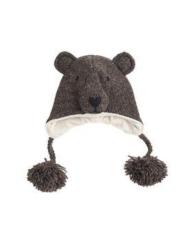 kids-happyeti™-bear-hat by jcrew