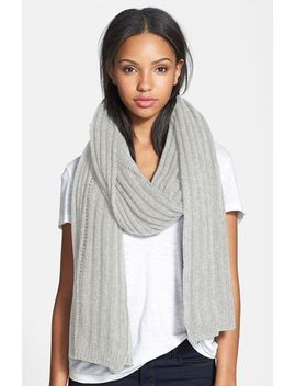 rib-knit-cashmere-wrap by nordstrom-collection
