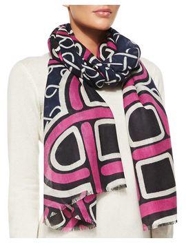 kenley-love-knot-scarf,-pink by diane-von-furstenberg