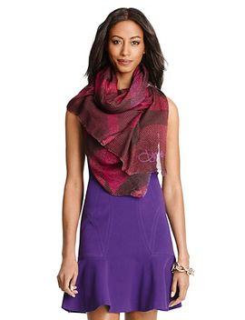 grace-modal-printed-scarf by dvf
