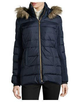 quilted-faux-fur-collar-puffer-coat,-dark-midnight by michael-michael-kors