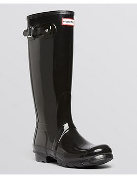 womens-womens-original-tall-gloss-rain-boots by hunter