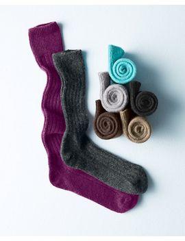 womens-cashmere-socks by garnet-hill