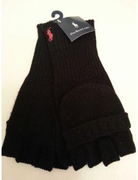polo-ralph-lauren-mens-convertible-fingerless-gloves-mittens-merino-wool-nwt by ebay-seller