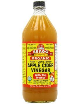 bragg-organic-raw-apple-cider-vinegar,-32-ounce---1-pack by bragg