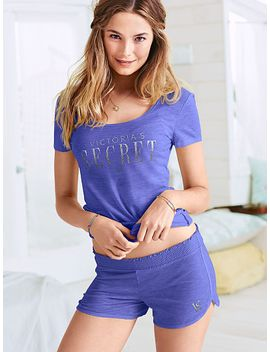 tee-and-short-set by victorias-secret