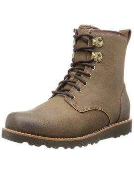 ugg-australia-mens-hannen-waterproof-suede-boots-black-7-m by unknown