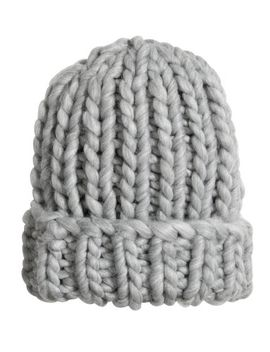 knitted-hat by h&m