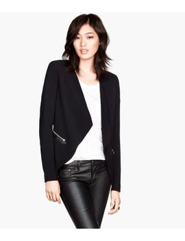 draped-jacket by h&m