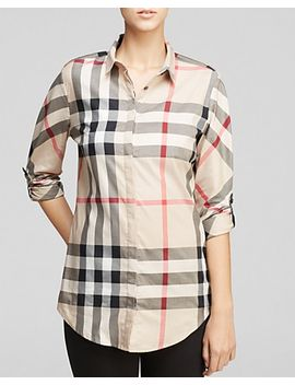 classic-check-shirt by burberry