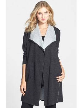 cascade-front-cardigan by eileen-fisher