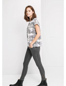 camo-print-t-shirt by mango