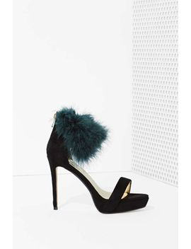 high-and-fly-faux-feather-heel by nasty-gal
