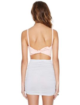 bow-out-bustier by nasty-gal