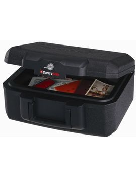 sentrysafe-fire-safe,-fire-resistant-chest,-018-cubic-feet,-extra-small,-1200 by sentrysafe