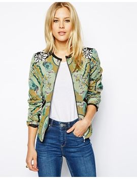 asos-jacket-in-blocked-jacquard by asos-collection
