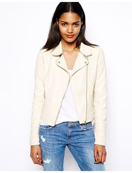 river-island-leather-look-biker-with-gold-zips by river-island