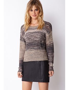 textured-knit-pullover-sweater by forever-21