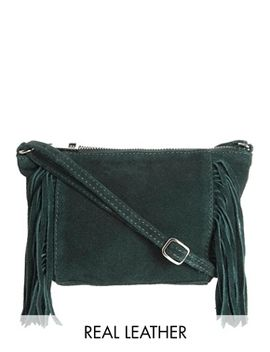 asos-suede-fringed-cross-body-bag by asos-collection