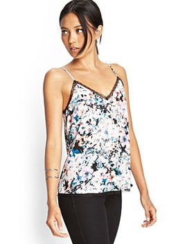 watercolor-floral-v-neck-cami by forever-21