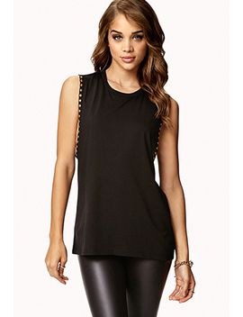 studded-muscle-tee by forever-21