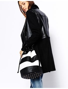 asos-striped-duffle-bag by asos-collection