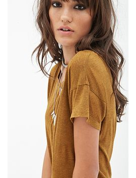 boxy-knit-tee by forever-21