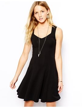 new-look-sweetheart-neckline-mini-skater-dress by new-look