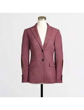 factory-elbow-patch-keating-boy-blazer-in-tweed by jcrew