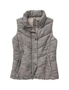 factory-textured-faux-fur-vest by gap