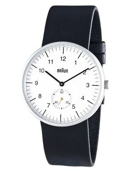 braun-mens-analog-wrist-watch,-white-face-38-mm by braun