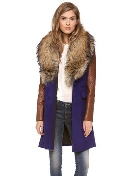 bell-fur-collar-coat by diane-von-furstenberg