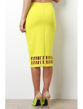 cage-cutout-skirt by urbanog