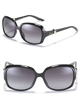 -rounded-square-oversized-sunglasses by dior
