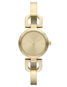 reade-round-d-link-bangle-watch,-24mm by dkny