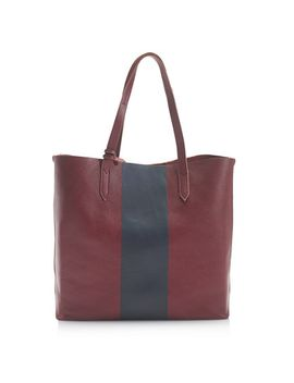 downing-tote-in-colorblock-stripe by jcrew